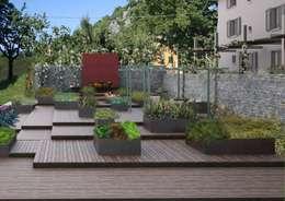 Projekty,  Ogród zaprojektowane przez A3PAESAGGIO