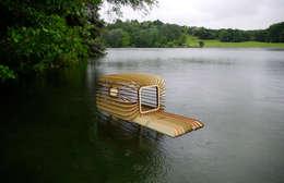 Duck house: Jardin de style de style Moderne par LA PIOTE DESIGNERIE