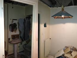 Appartement dans quartier historique de Dijon: Chambre de style de style Rustique par Kreatitud Deco Design