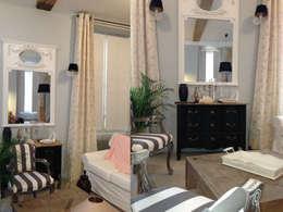 Appartement dans quartier historique de Dijon: Chambre de style de style Classique par Kreatitud Deco Design