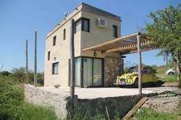 Projekty, nowoczesne Domy zaprojektowane przez MULA.Arquitectos