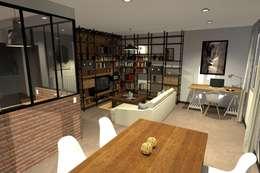 Appartement : Maisons de style de style Industriel par ARtchidesign