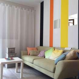 Wiosna: styl , w kategorii Salon zaprojektowany przez Perfect Home