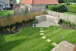 Jardines de estilo rural por Native Landscape Design