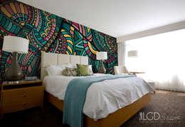 LGD01 MultiLés - ETHNIC ©: Murs & Sols de style de style eclectique par LGD01