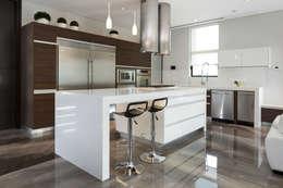 Projekty,  Kuchnia zaprojektowane przez URBN