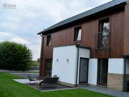 Projekt Koninko: styl skandynawskie, w kategorii Domy zaprojektowany przez kabeDesign kasia białobłocka