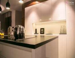 Projekt Koninko: styl , w kategorii Kuchnia zaprojektowany przez kabeDesign kasia białobłocka