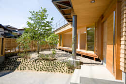 Casas de estilo ecléctico por 松下建築設計 一級建築士事務所/Matsushita Architects