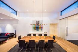 Helwig Haus und Raum Planungs GmbH: modern tarz Yemek Odası