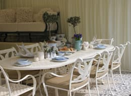 Projects: country Dining room by Oxley's Furniture Ltd