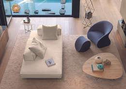 modern Living room by Setsu & Shinobu Ito