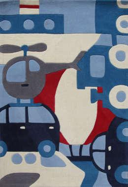 Tapis Puzzle Voyage: Chambre d'enfants de style  par ART FOR KIDS