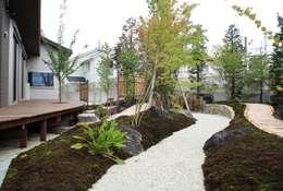 modern Garden by やまぐち建築設計室