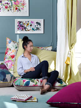 غرفة نوم تنفيذ bluebellgray
