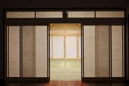 Ventanas de estilo  por やまぐち建築設計室
