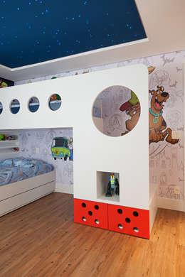 Chambre d'enfant de style de style Moderne par Link Interiores