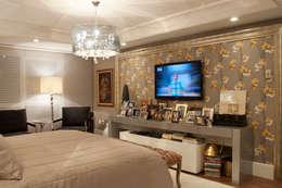 Projekty,  Sypialnia zaprojektowane przez Link Interiores
