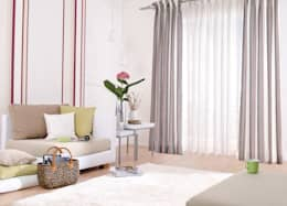 modern Living room by Indes Fuggerhaus Textil GmbH
