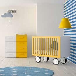 modern Nursery/kid's room by Mueblalia