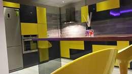 ROAS Mimarlık – Bar Derayı: modern tarz Mutfak