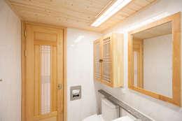 아파트를 한옥으로: 한옥공간의  화장실