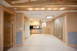 아파트를 한옥으로: 한옥공간의  주방