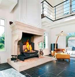 classic Living room تنفيذ Finoptim