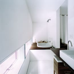 minimalistic Bathroom by Cattaneo Brindelli architetti associati