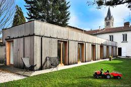 Maison ossature bois: Maisons de style de style Minimaliste par Carole Guyon architecte