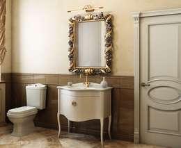 Дом в неоклассическом стиле: Ванные комнаты в . Автор – Студия дизайна 'New Art'