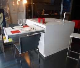 minimalistic Kitchen تنفيذ SteellArt