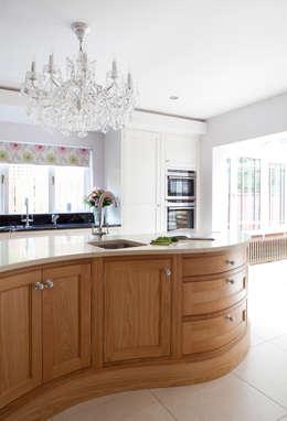 Twisted Kitchen: classic Kitchen by Designer Kitchen by Morgan