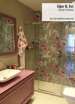 Plaza Yapı Malzemeleri – Uğur B. Evi: klasik tarz tarz Banyo
