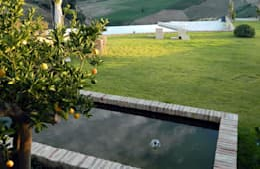 Projekty,  Ogród zaprojektowane przez Lucio Piunti