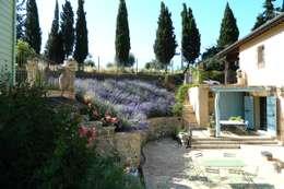 Jardines de estilo moderno por Lucio Piunti