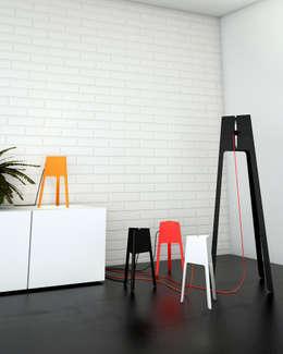 Nicolas Ghilissen: modern tarz Oturma Odası
