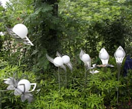 Jardines de estilo  por Kunstschmiede