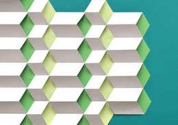 Modules cube: Murs & Sols de style de style Moderne par Anne-Lise Vernejoul