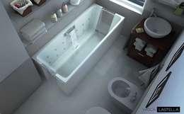 Baños de estilo  por M+design