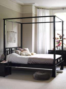 asiatische Schlafzimmer von Orchid