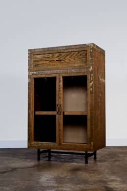 Hardwood-Pipe Furniture ROMUS: ROMUS 하드우드 파이프 가구 로머스의  다이닝 룸
