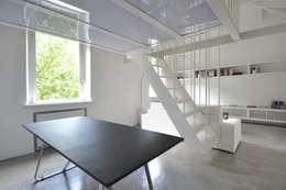 MINI FLAT PARIOLI: Sala da pranzo in stile in stile Minimalista di lad laboratorio architettura e design