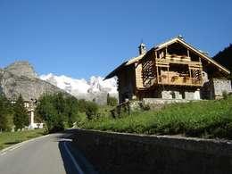 Lo chalet l 39 appartamento e la baita 3 esempi di casa di for Piani di casa in stile baita di montagna