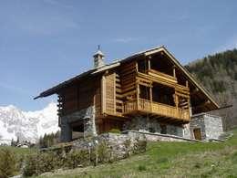 Casas de estilo rústico por Alessandra Bonanni Studio