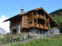 Projekty, rustykalne Domy zaprojektowane przez Alessandra Bonanni Studio