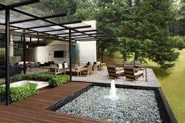 Bureau de style de style Minimaliste par grupoarquitectura