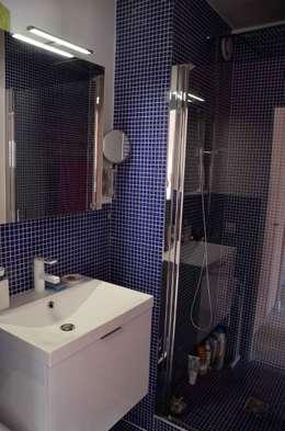 modern Bathroom by Espaces à Rêver