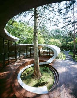بلكونة أو شرفة تنفيذ ARTechnic architects / アールテクニック