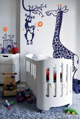 Детская комната в . Автор – E-GLUE - Stickers Muraux et Papier-Peints Enfants